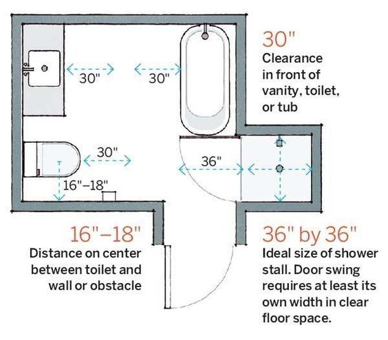 Small Power Room Dimensions 10