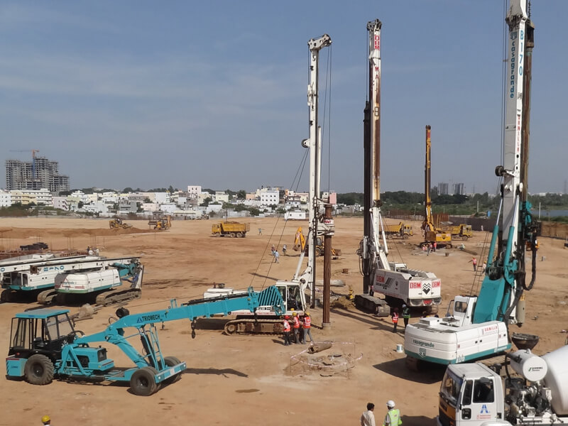 advantages & disadvantages of pile foundation - How Piles are Constructed?