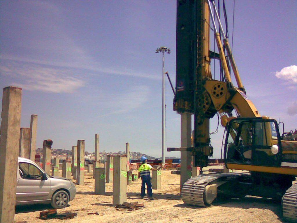 advantages & disadvantages of pile foundation - Driven and Cast-in-Place Concrete Piles