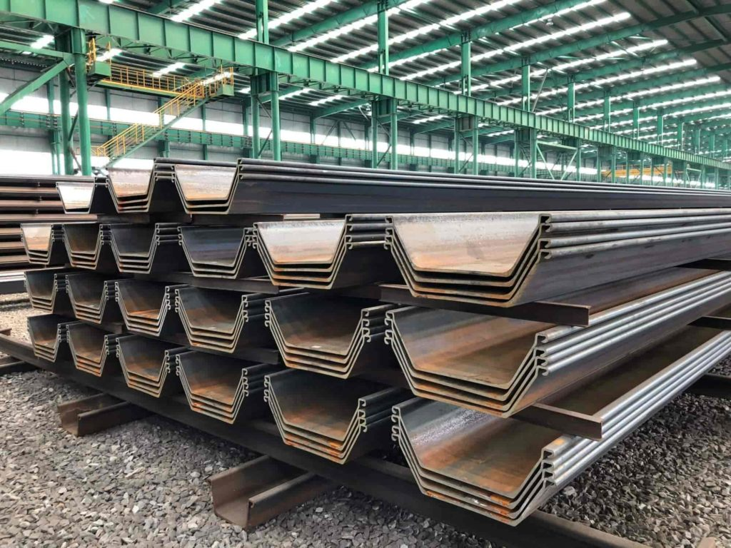 advantages & disadvantages of pile foundation - Steel Piles (Rolled Steel Section)