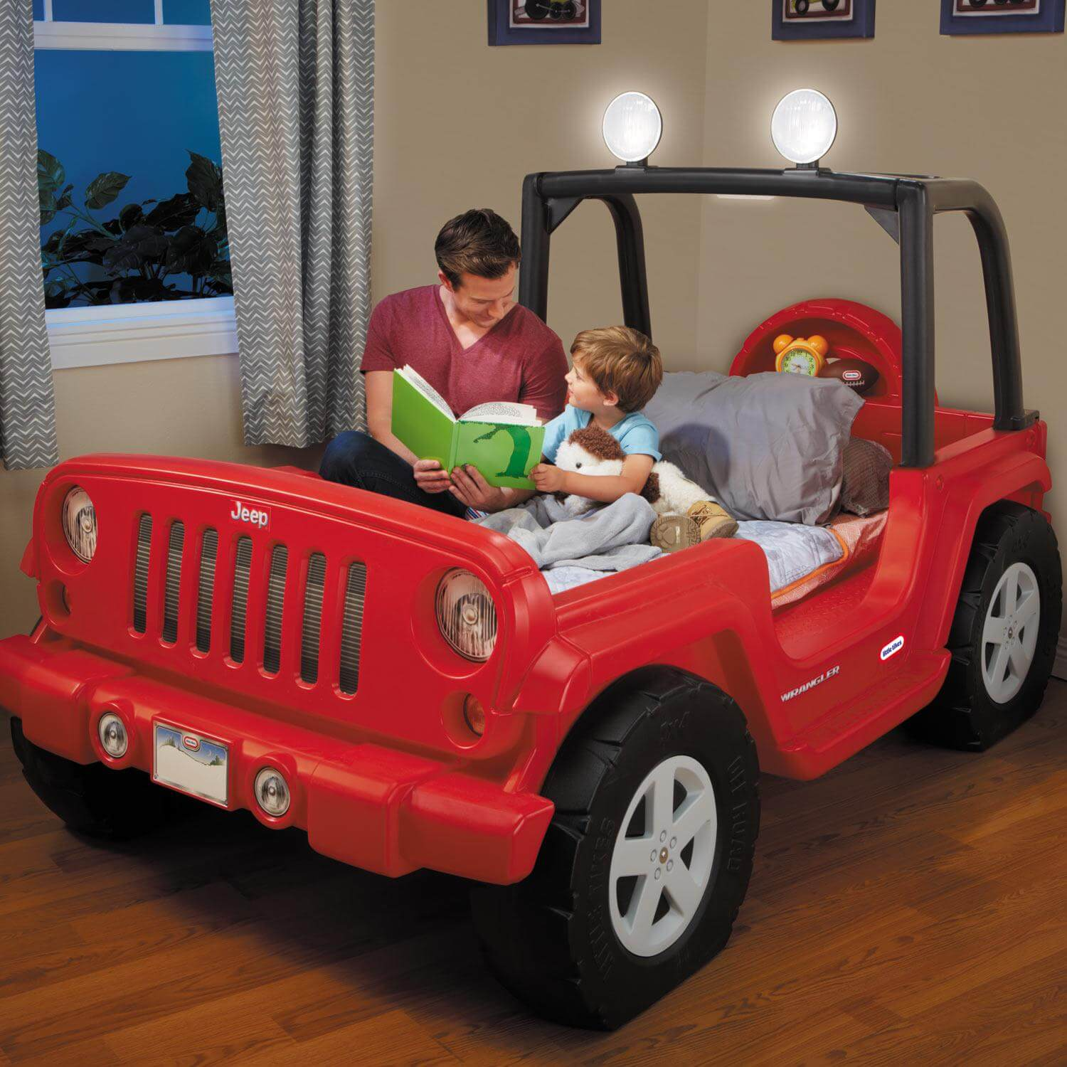 4 Jeep Bed