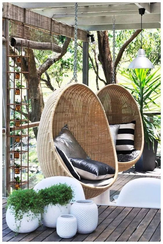 Backyard Swing Designs 12