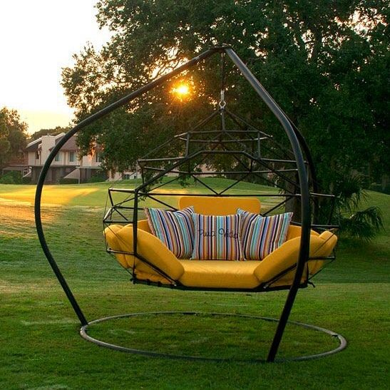 Backyard Swing Designs 13