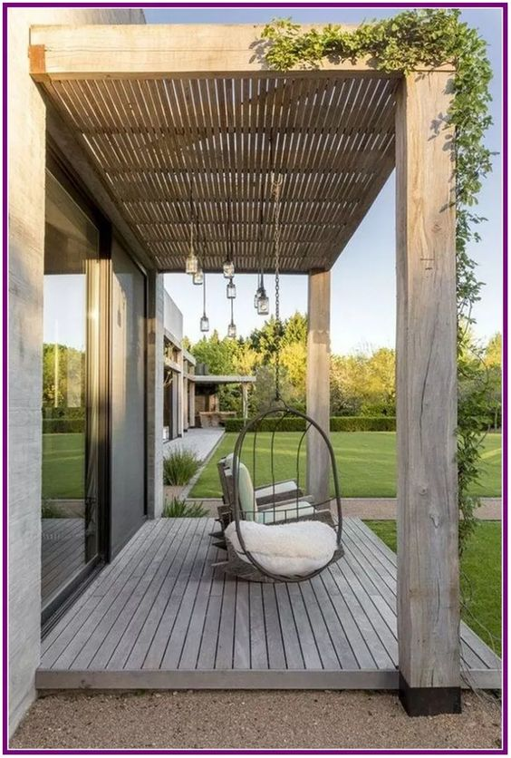 Backyard Swing Designs 7