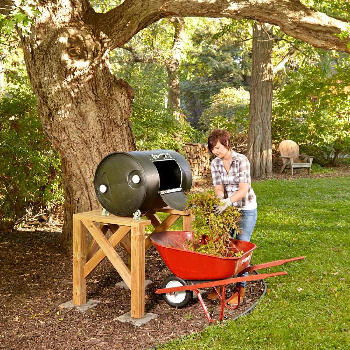 DIY Compost Bin 11