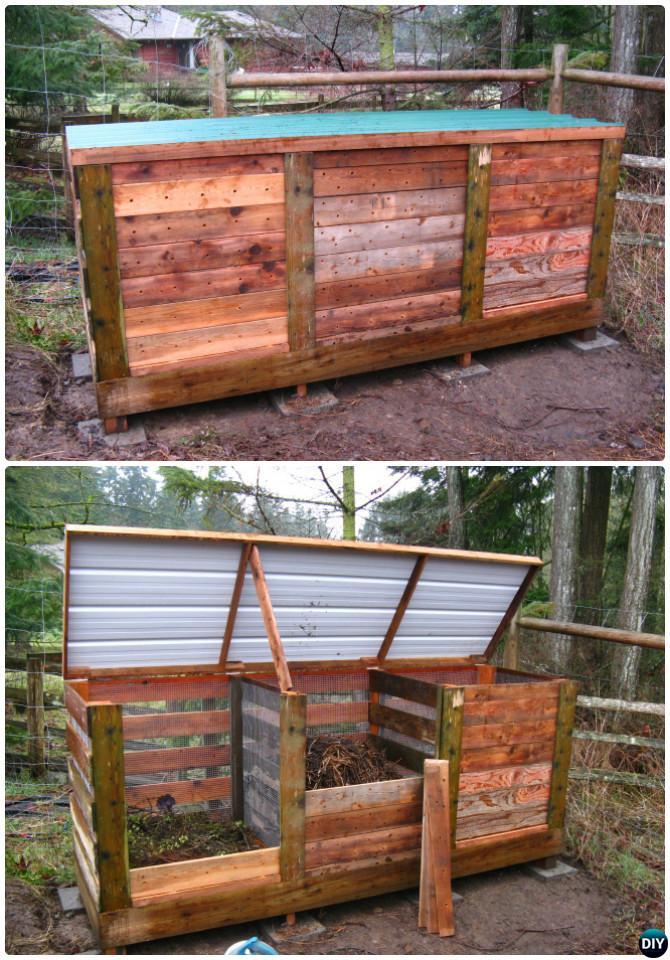 DIY Compost Bin 14