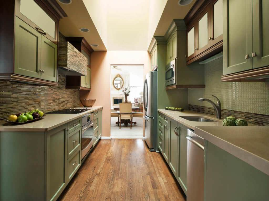 Most Attractive Designs of Galley Kitchen5