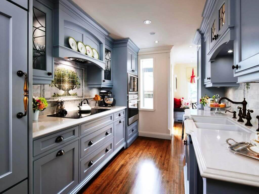 Most Attractive Designs of Galley Kitchen9