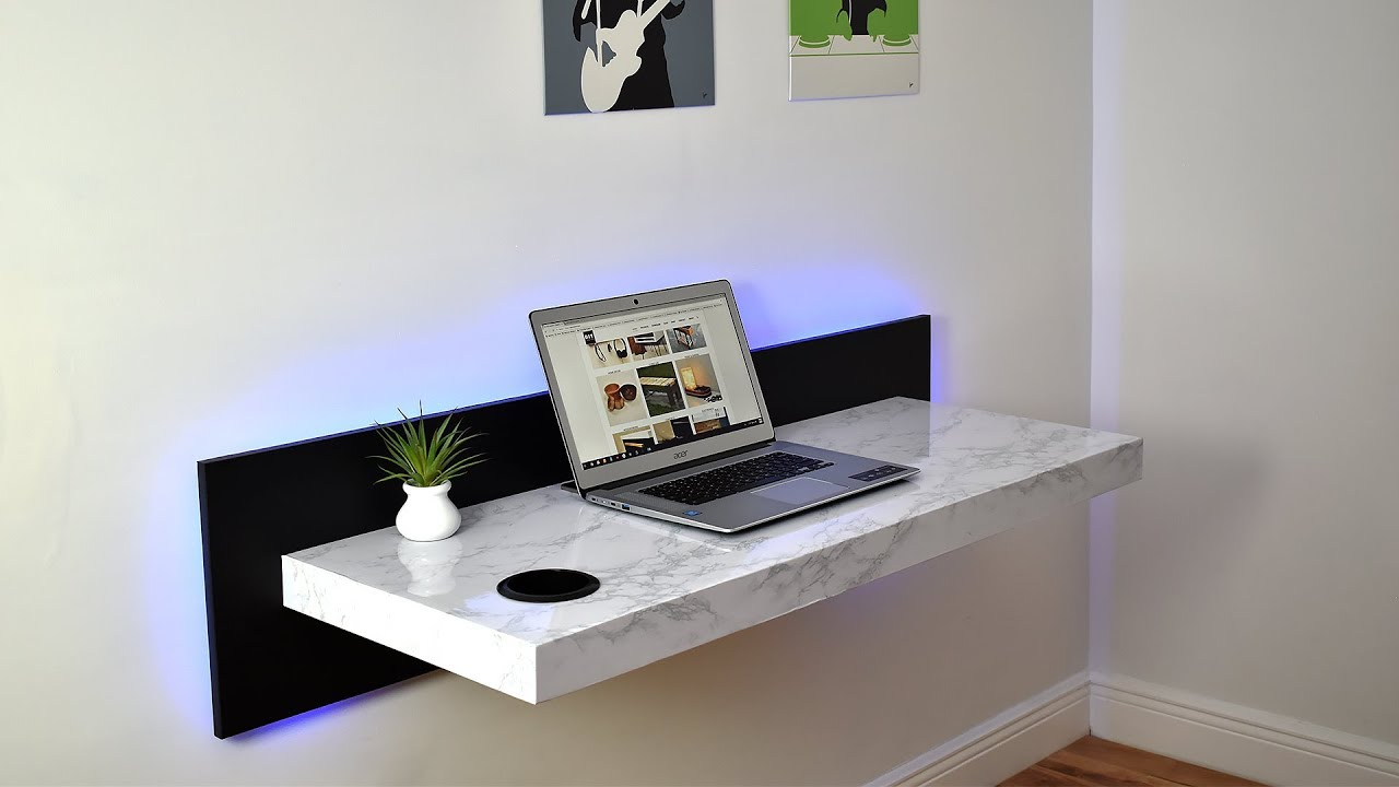 Mounted Desk Designs For DIY Enthusiasts 1