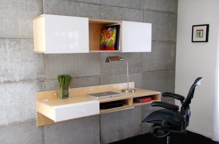 Mounted Desk Designs For DIY Enthusiasts 12