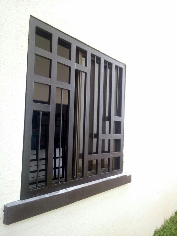 Simple Yet Modern Window Grill Designs to Decorate Windows 10