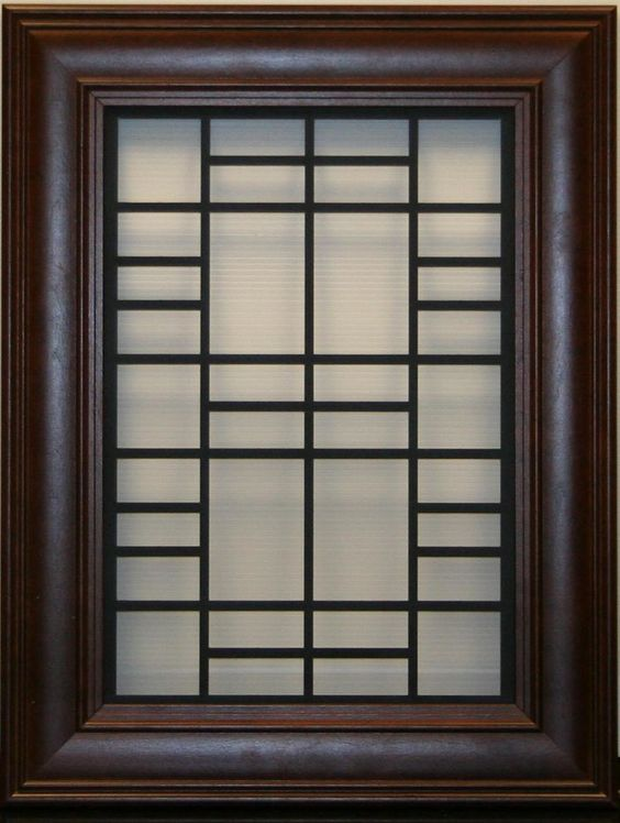 Simple Yet Modern Window Grill Designs to Decorate Windows 3
