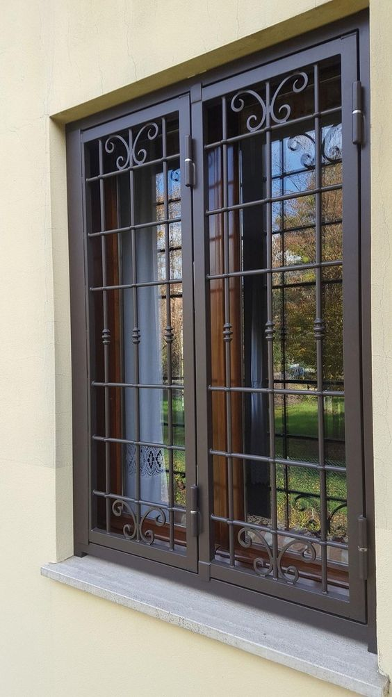 Simple Yet Modern Window Grill Designs To Decorate Windows The Architecture Designs