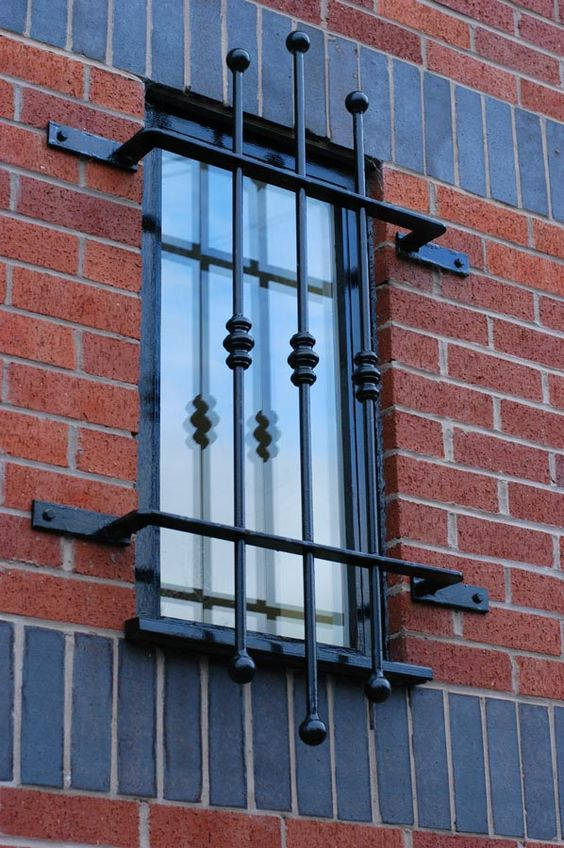 Simple Yet Modern Window Grill Designs to Decorate Windows 8