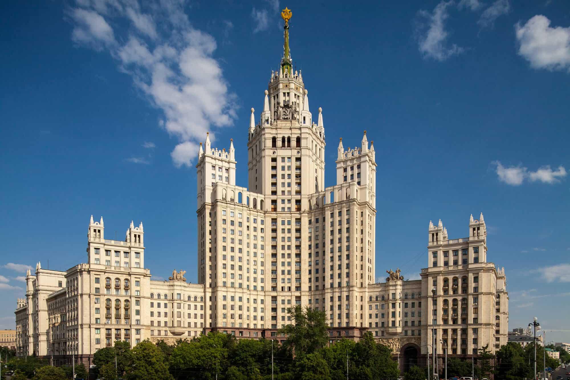 Stalinist Architecture Design 3