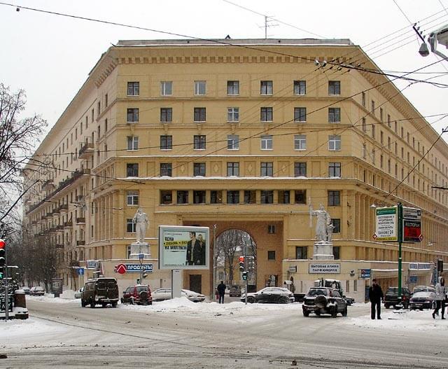 Stalinist Architecture Design 8