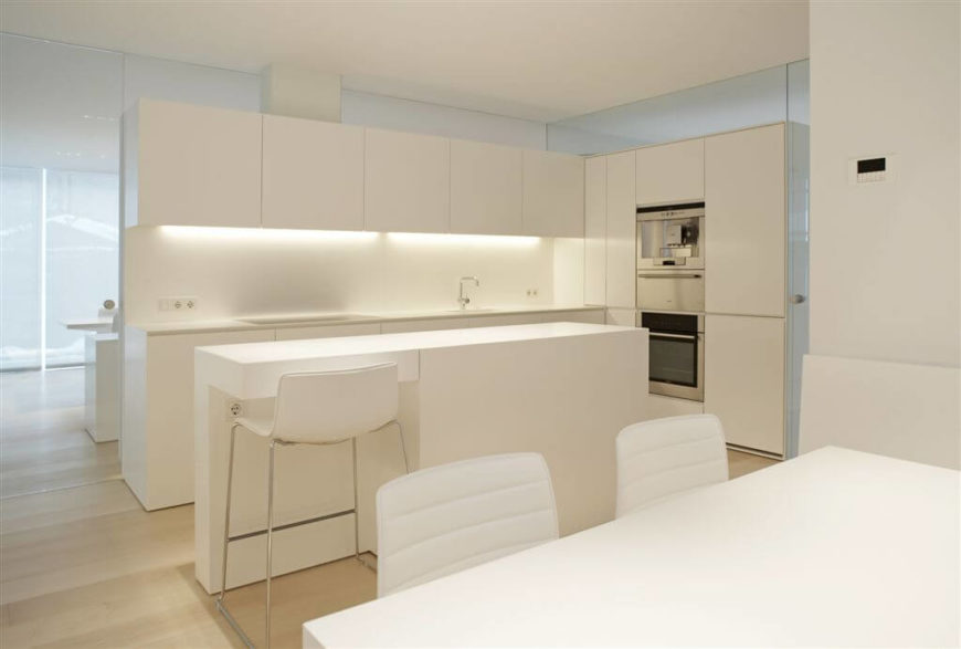 Trending Designs Ideas of a Kitchen Without Windows 2