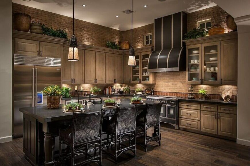 Trending Designs Ideas of a Kitchen Without Windows 3