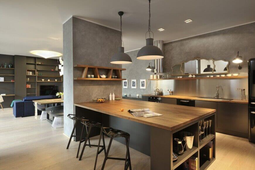 Trending Designs Ideas of a Kitchen Without Windows 4