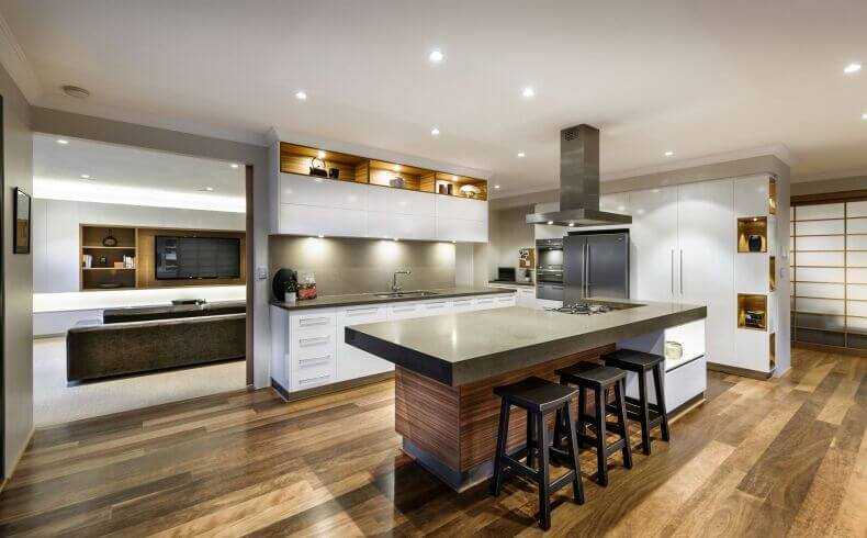 Trending Designs Ideas of a Kitchen Without Windows 5
