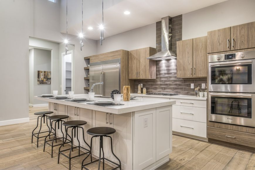 Trending Designs Ideas of a Kitchen Without Windows 6