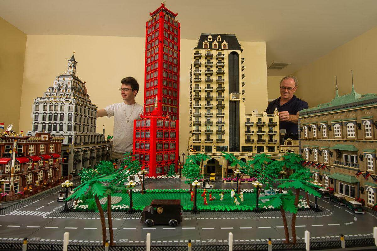 Unbelievable Lego Architecture 9