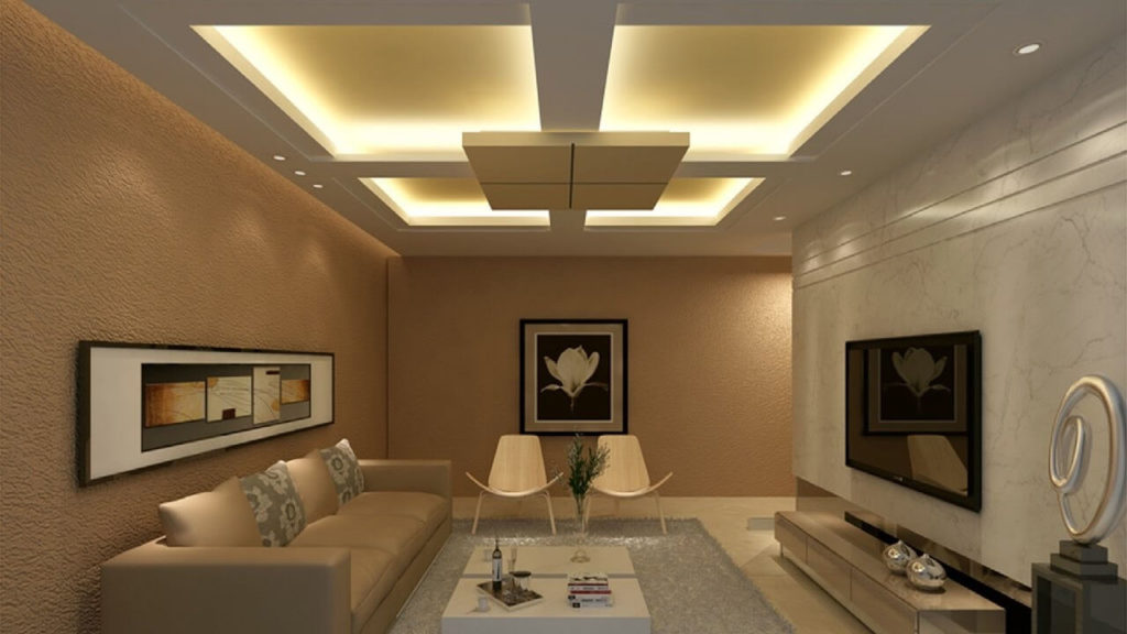 Modern Pop False Ceiling Designs For Living Room The