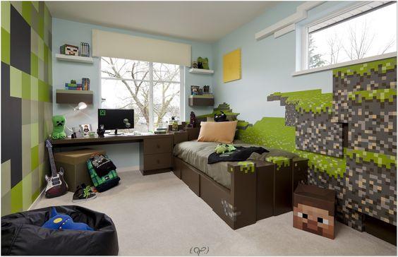 Minecraft Bedroom Ideas 1