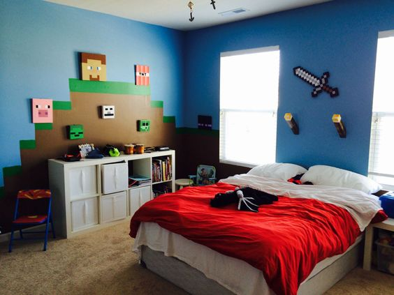 Minecraft Bedroom Ideas 10