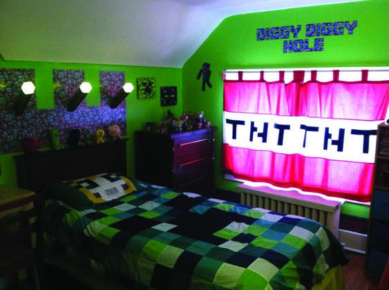 Minecraft Bedroom Ideas 11