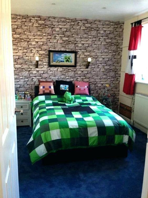 Minecraft Bedroom Ideas 12