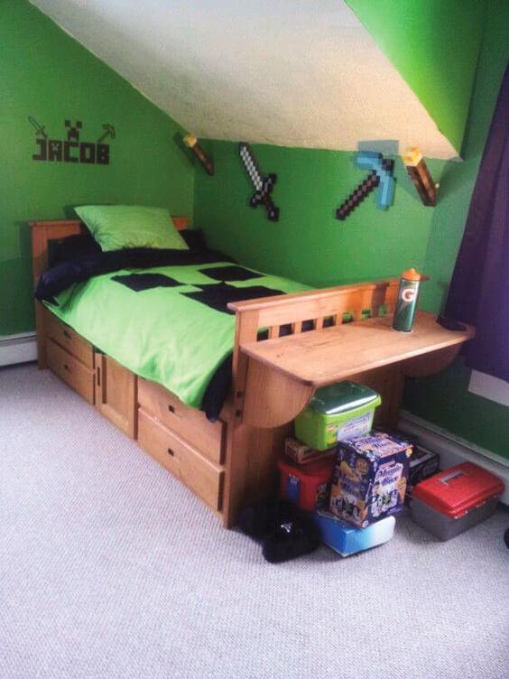 Minecraft Bedroom Ideas 15