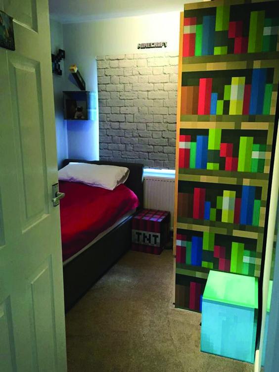 Minecraft Bedroom Ideas 18