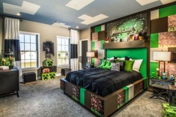 Minecraft Bedroom Ideas 22