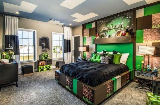 Minecraft Bedroom Ideas 22