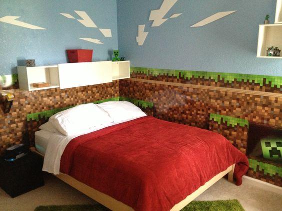Minecraft Bedroom Ideas 24