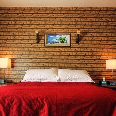 Minecraft Bedroom Ideas 25