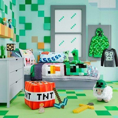 Minecraft Bedroom Ideas 26