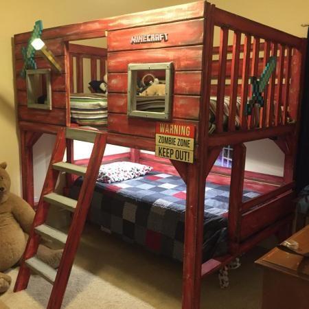 Minecraft Bedroom Ideas 27