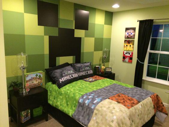 Minecraft Bedroom Ideas 5