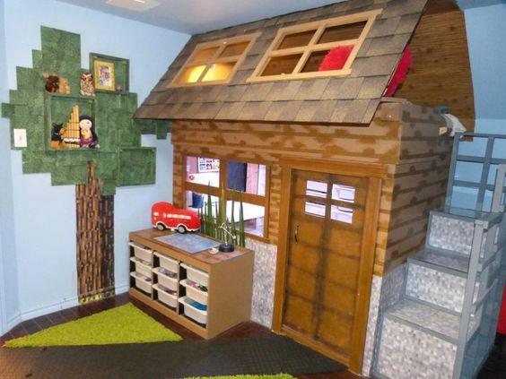 Minecraft Bedroom Ideas 6