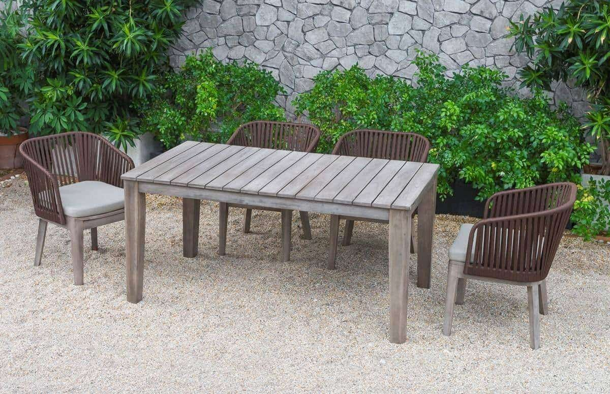 Outdoor Dining Table Designs 11