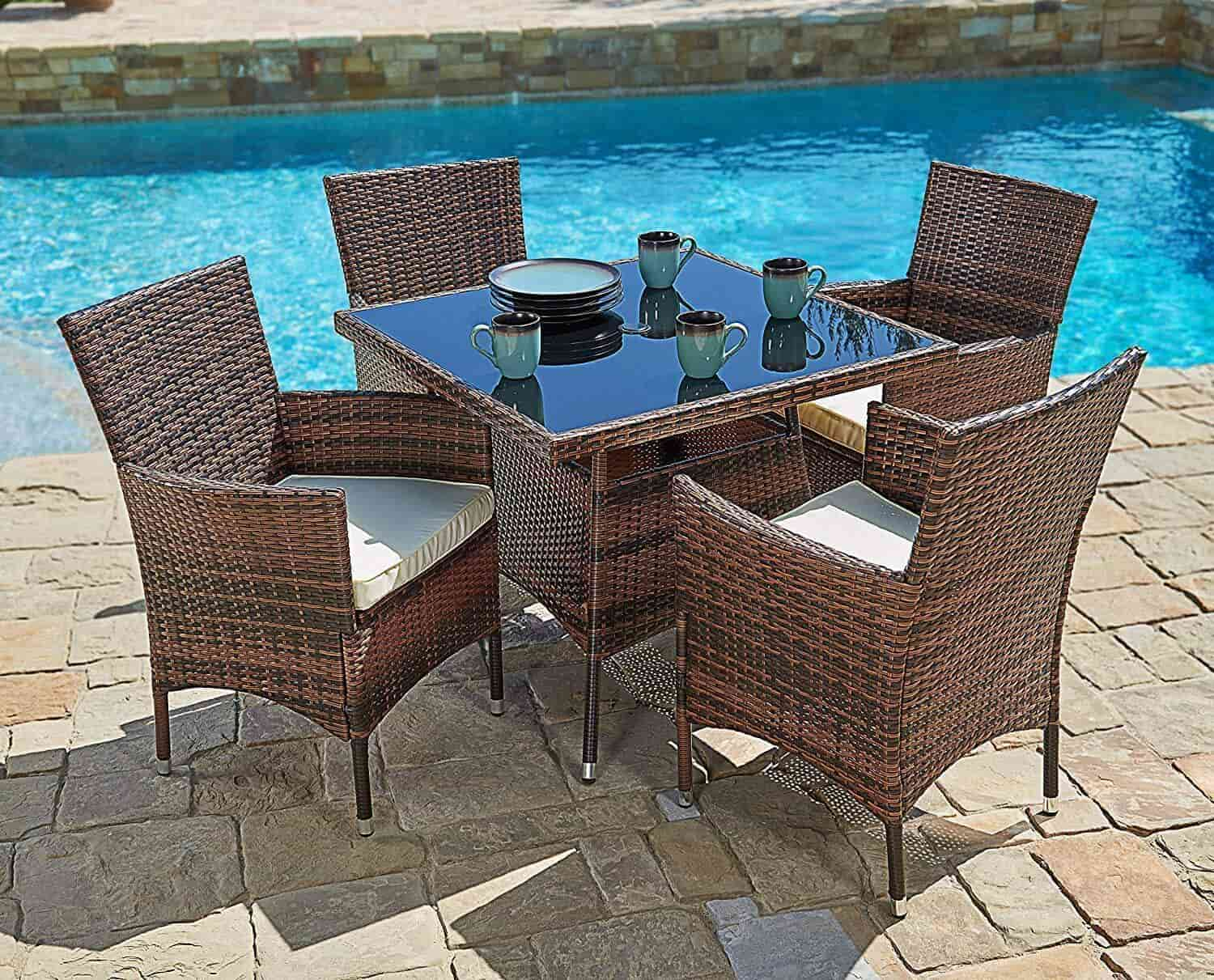 Outdoor Dining Table Designs 12