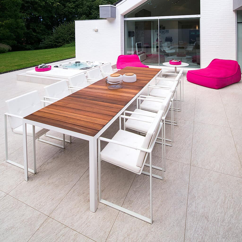 Outdoor Dining Table Designs 13