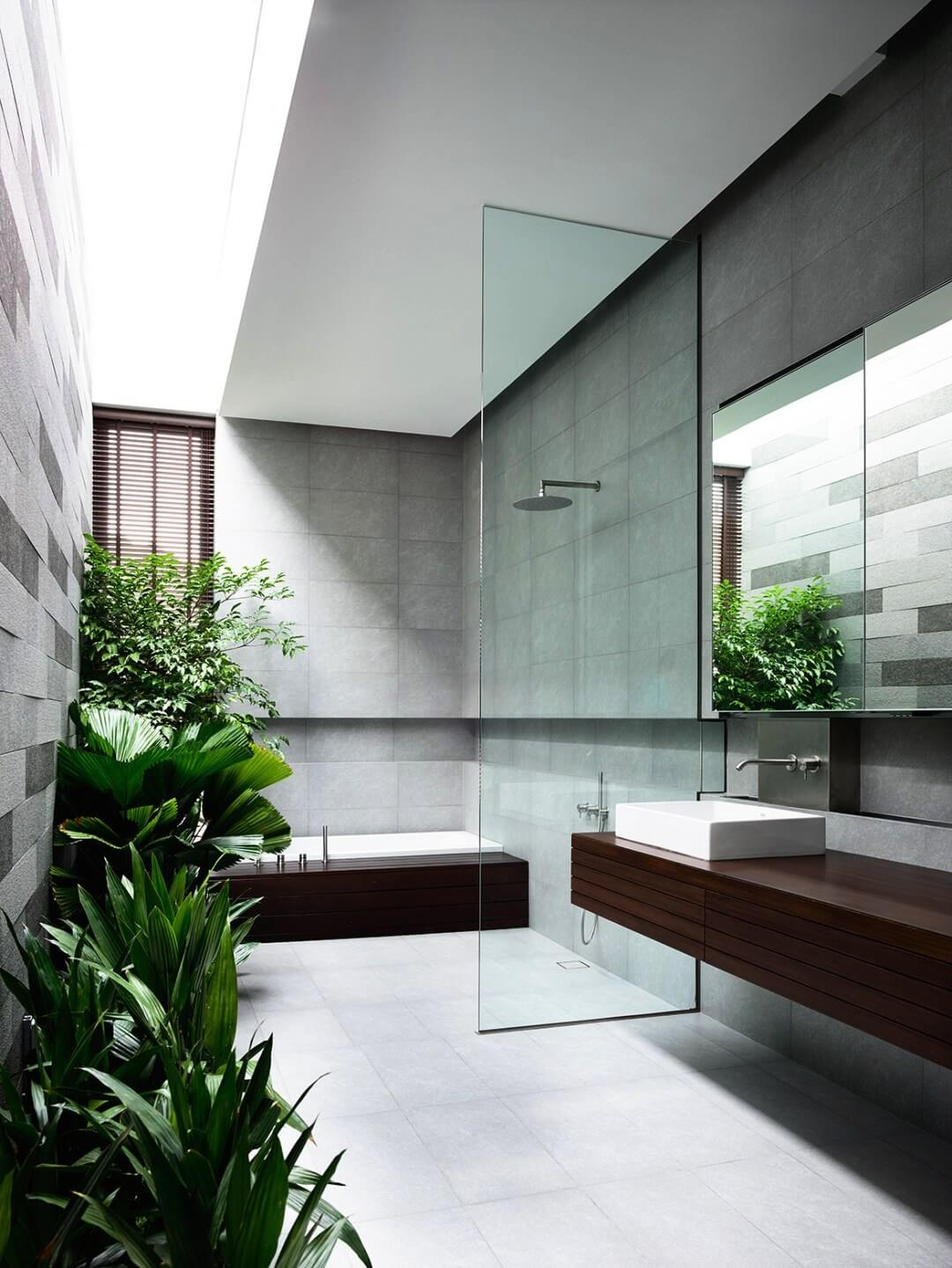 Tropical Bathroom Designs 10