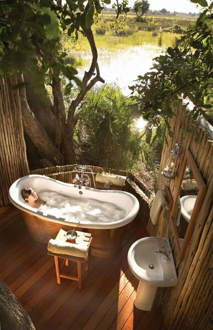 Tropical Bathroom Designs 15