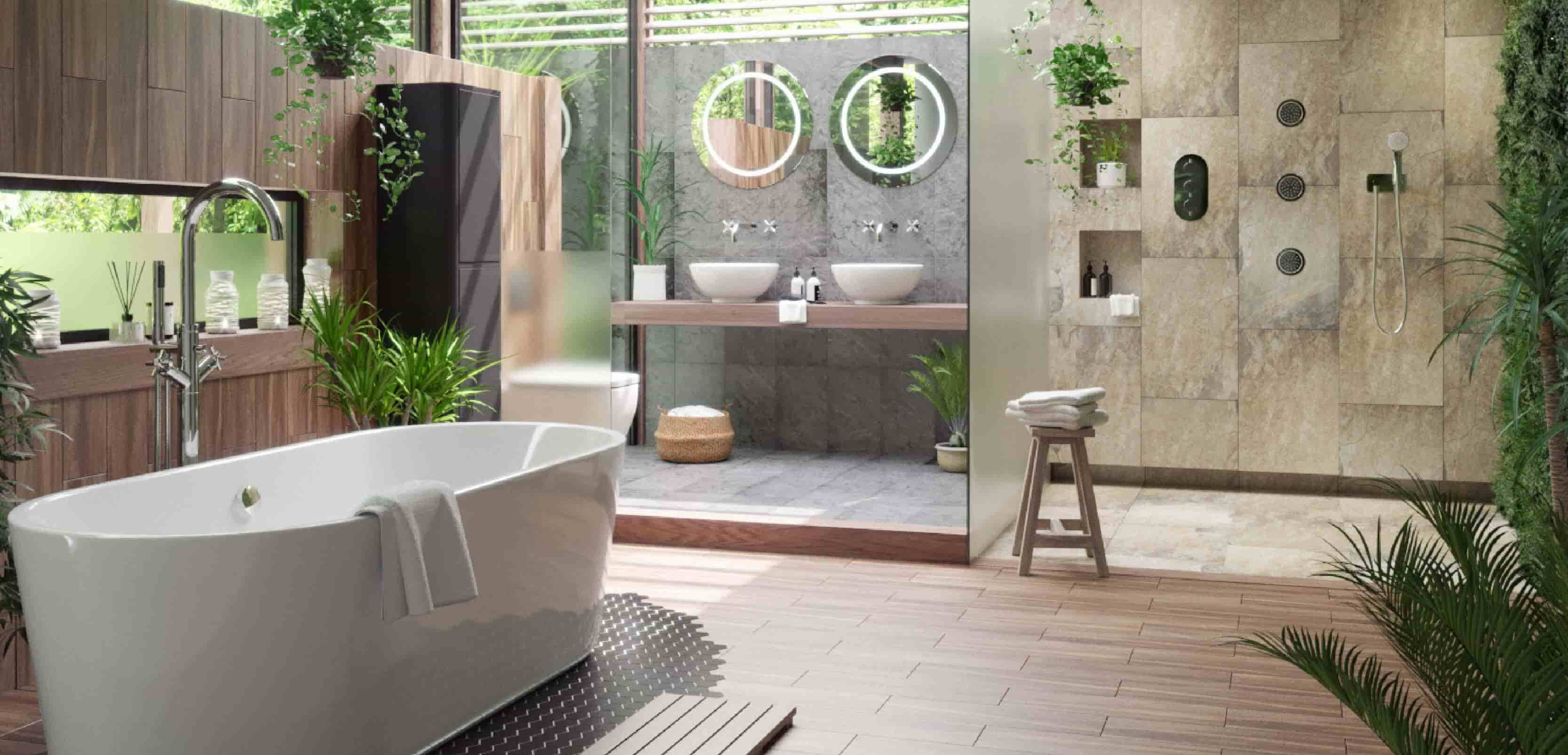 Tropical Bathroom Designs 2