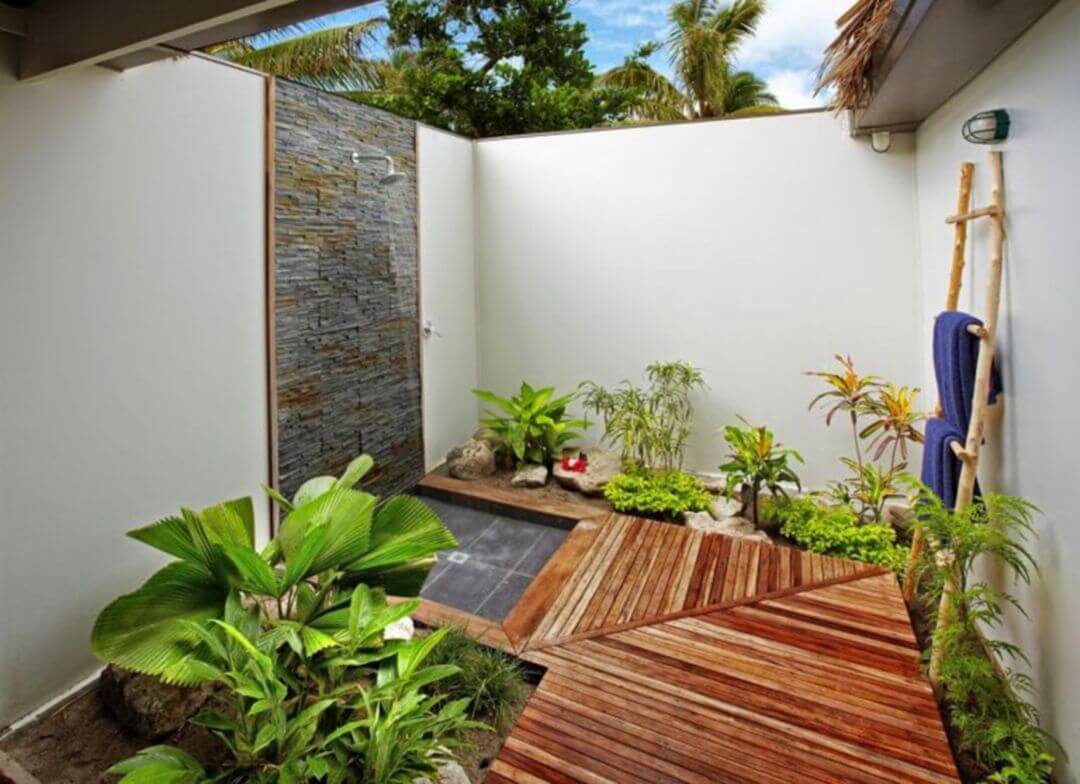 Tropical Bathroom Designs 8
