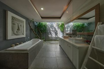 Tropical Bathroom Designs Feature Image