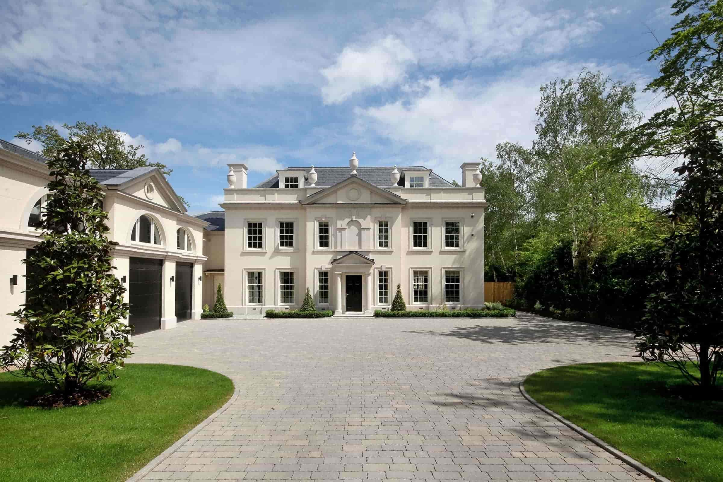 classical architecture home